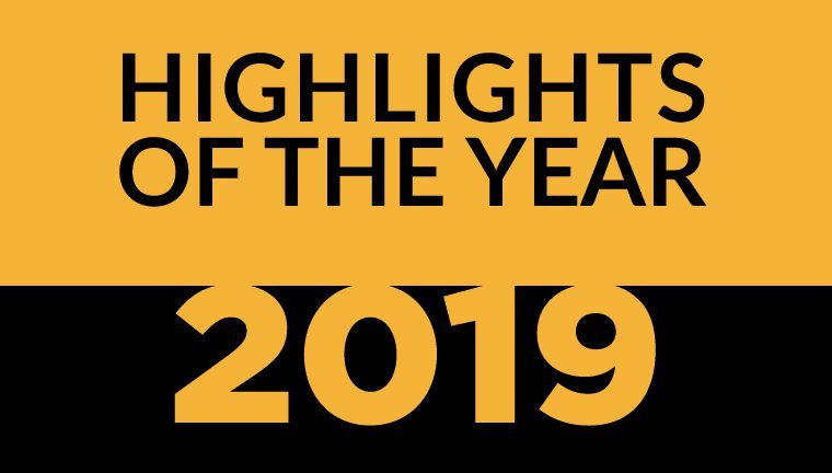 Highlights of the Year 2019