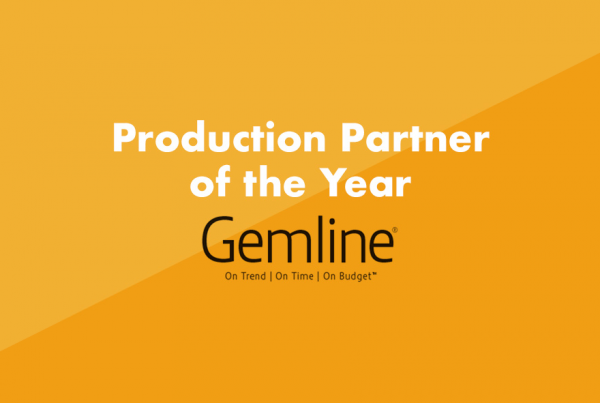 Geiger names Gemline 2020 Production Partner of the Year