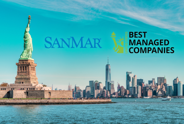 SanMar recognized as a U.S. Best Managed Company